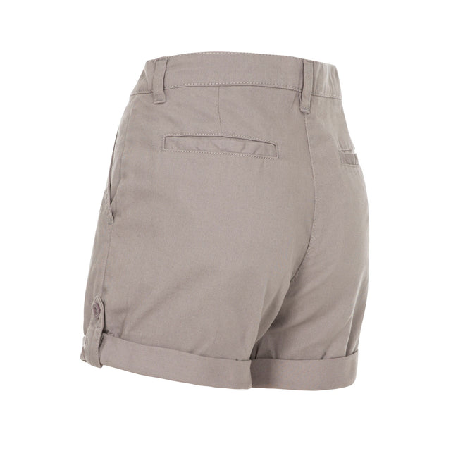 Storm Gray - Back - Trespass Womens-Ladies Rectify Adventure Shorts