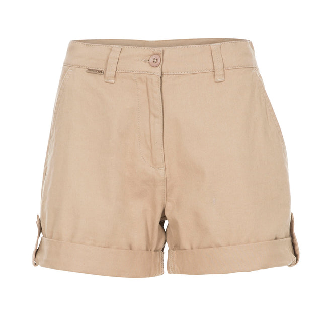 Wheat - Front - Trespass Womens-Ladies Rectify Adventure Shorts