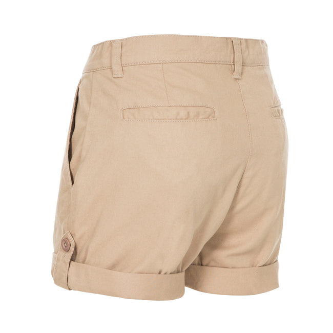 Wheat - Back - Trespass Womens-Ladies Rectify Adventure Shorts