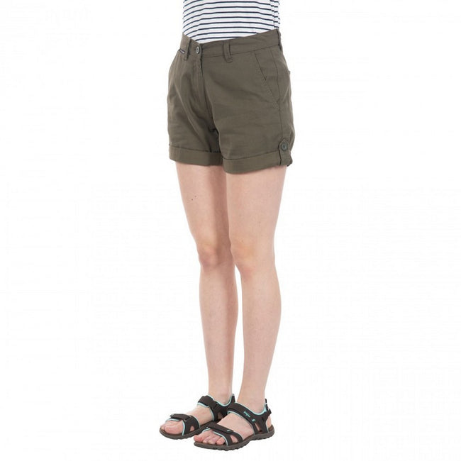 Moss - Back - Trespass Womens-Ladies Rectify Adventure Shorts