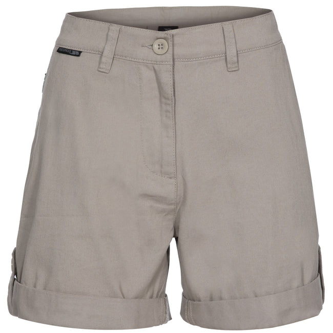 Oatmeal - Front - Trespass Womens-Ladies Rectify Adventure Shorts