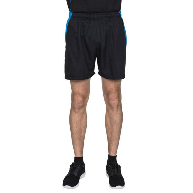 Black - Back - Trespass Mens Shane Sport Shorts
