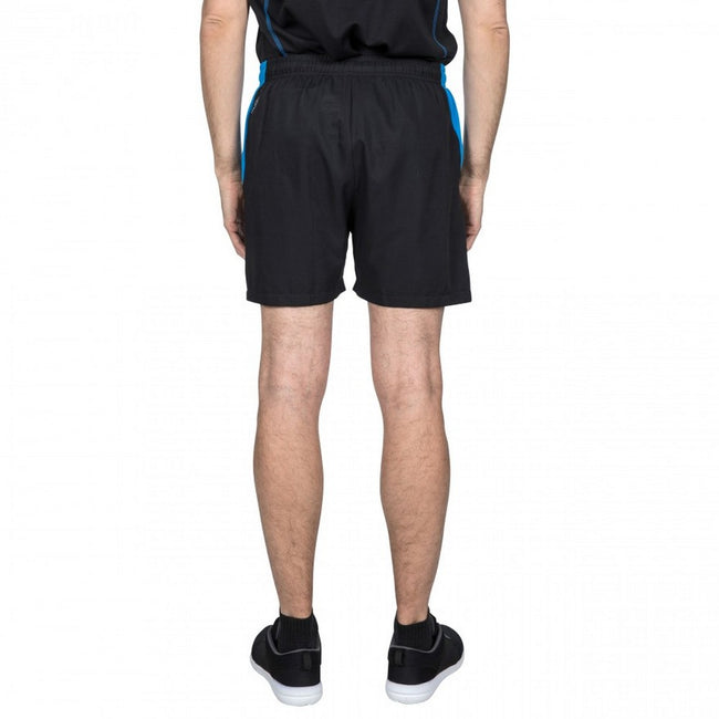 Black - Side - Trespass Mens Shane Sport Shorts