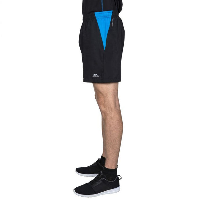 Black - Lifestyle - Trespass Mens Shane Sport Shorts