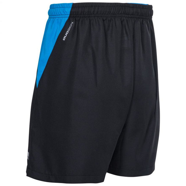 Black - Pack Shot - Trespass Mens Shane Sport Shorts