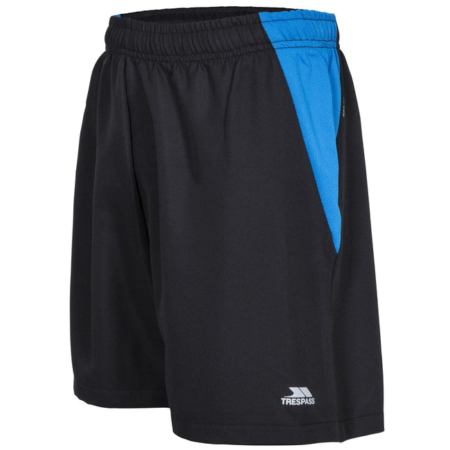 Black - Close up - Trespass Mens Shane Sport Shorts