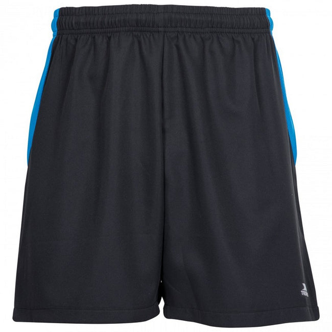 Black - Front - Trespass Mens Shane Sport Shorts