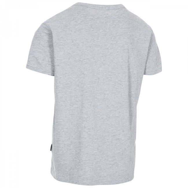 Gray Marl - Back - Trespass Plaintee Mens Quick Dry T Shirt