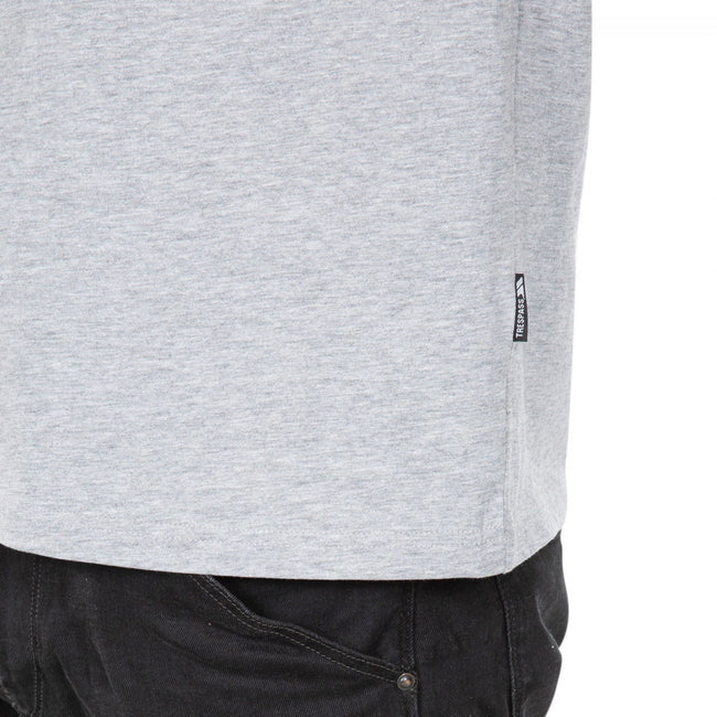 Gray Marl - Lifestyle - Trespass Plaintee Mens Quick Dry T Shirt