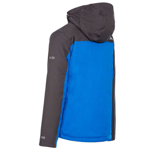 Blue - Back - Trespass Mens Tolsford Waterproof Jacket