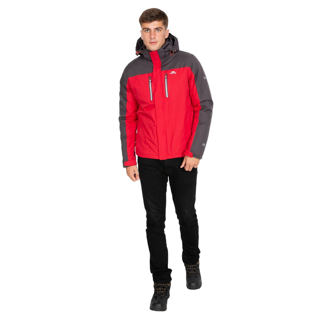 Red - Pack Shot - Trespass Mens Tolsford Waterproof Jacket