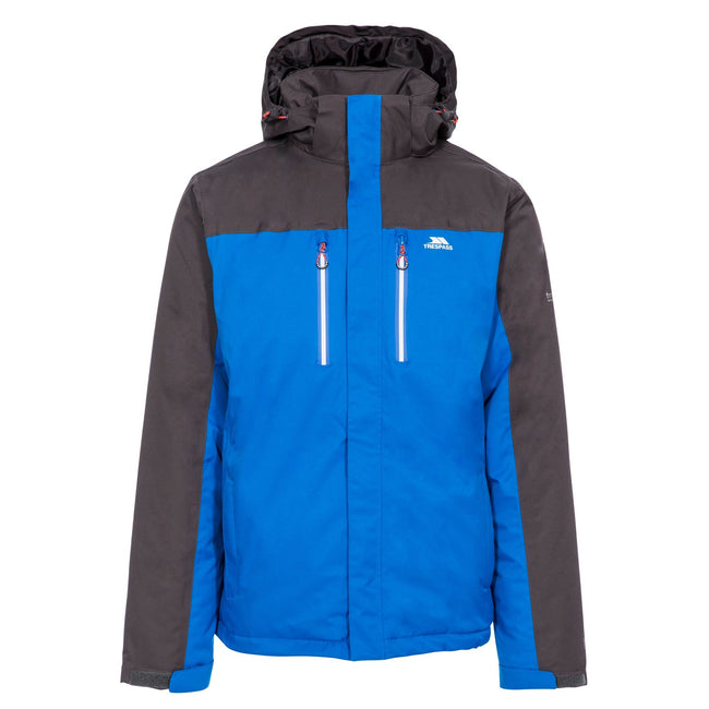 Blue - Front - Trespass Mens Tolsford Waterproof Jacket