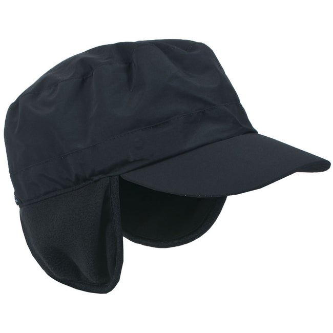 Black - Back - Trespass Unisex Rupin Performance Ear Warmer Hat