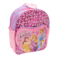 Pink - Front - Disney Girls Princess Glitter Backpack