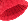 Red - Lifestyle - Foxbury Womens-Ladies Christmas Rudolph Knitted Hat