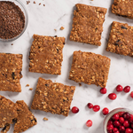 CRANBERRY FLAX HEARTBAR™ OATMEAL SQUARES 72 COUNT
