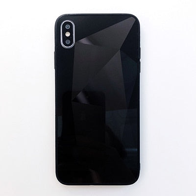 3D Diamond Mirror Case