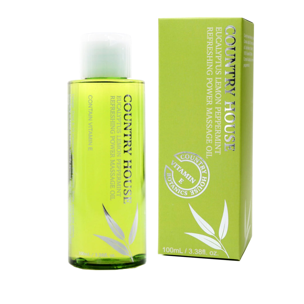 Refreshing Power Massage Oil