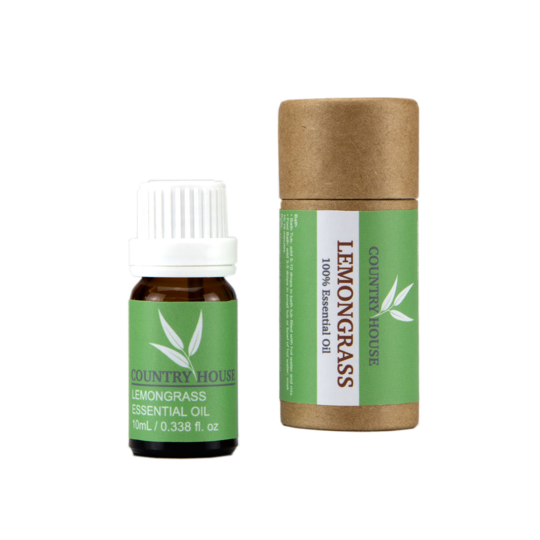 100% Lemongrass Essential Oil