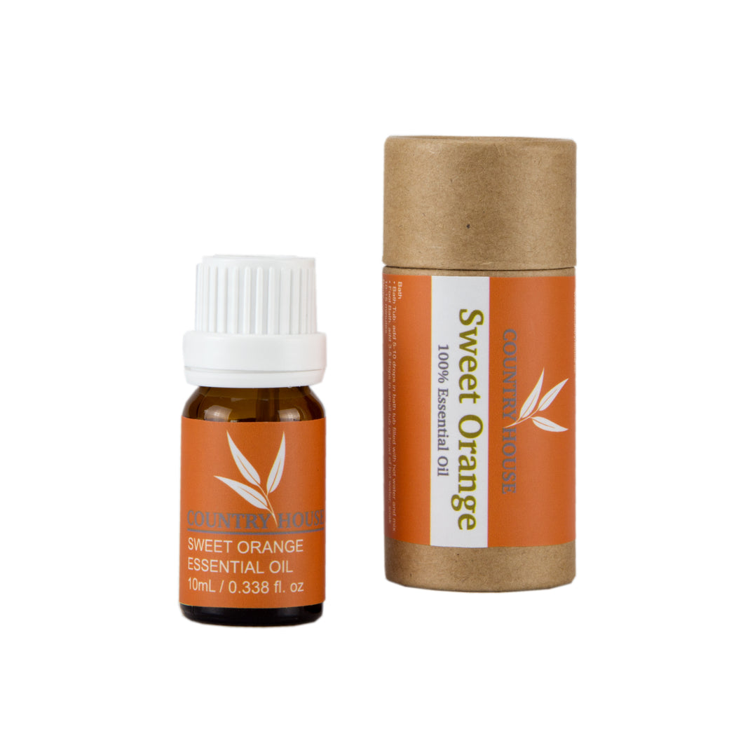 100% Sweet Orange Essential Oil