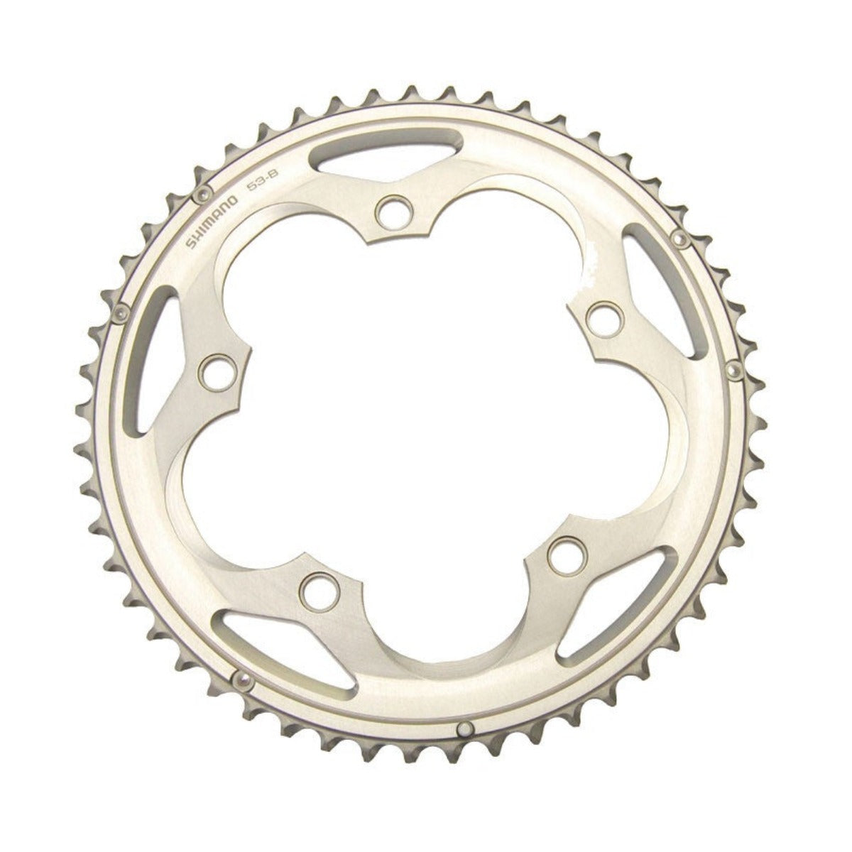 NEW Shimano 105 5700 53t 130mm 10-Speed Chainring Black