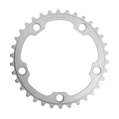 Shimano 105 5750 10 Speed Chainrings - Silver