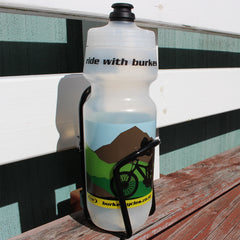 Burkes Cycles Bottle & Cage Combo