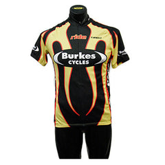 Burkes Cycles Jersey, S/S