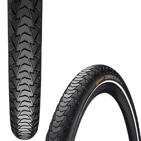 Continental Contact Plus Tyre, 700c