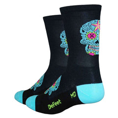 DeFeet Aireator SugarSkull Tall Sock
