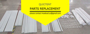A Quick Guide to Get Replacements From Quictent