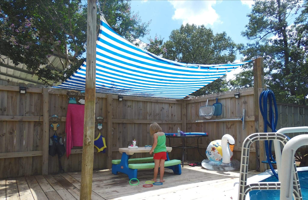 Why You Should Buy Quictent Colored-Stripe Shade Sails