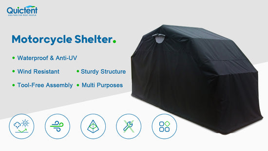 Quictent_Motorcycle_Shelter
