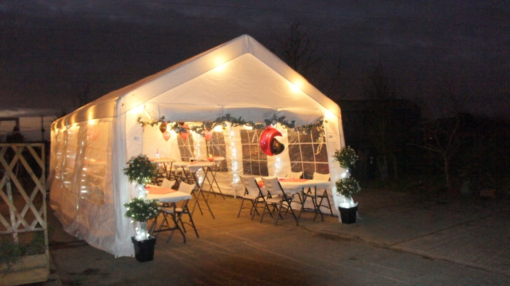 Decorated Quictent Party Tent for 2020 Christmas