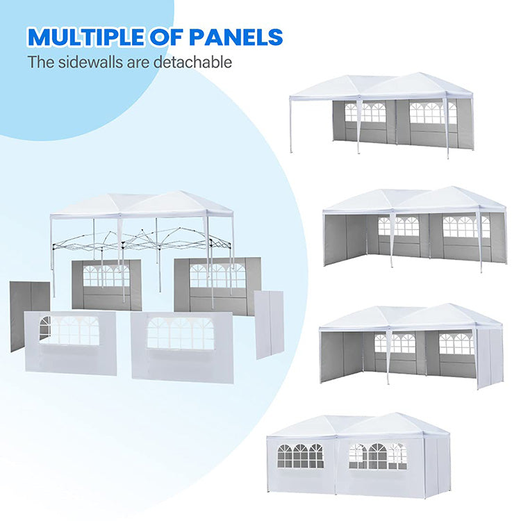 Removable sidewalls Pop up Party Tent