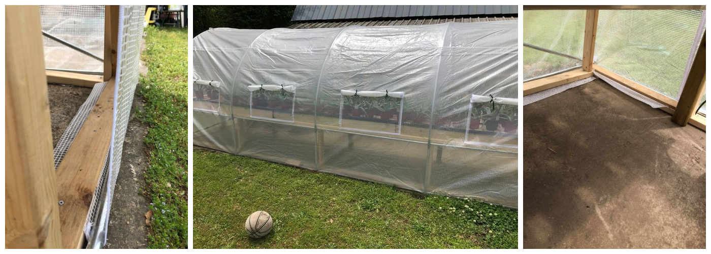 Cover Fixed with Extra Weights: Quictent Upgraded 20' x 10' x 7' Large Greenhouse