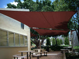 24' x 24' Square Shade Sail-Terracotta