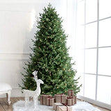 7.5' Artificial Christmas Tree with Berries 750 LED Lights