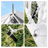 NEW ARRIVAL! Quictent 20'X40' Heavy Duty Party Tent PVC Poles&Carry Bags
