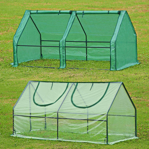 "Quictent 71"" x 36"" x 36"" Mini Greenhouse With 2 Covers"