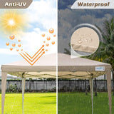 waterproof and 98%UV protection