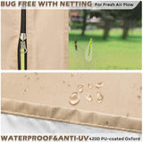 Bug Free with netting