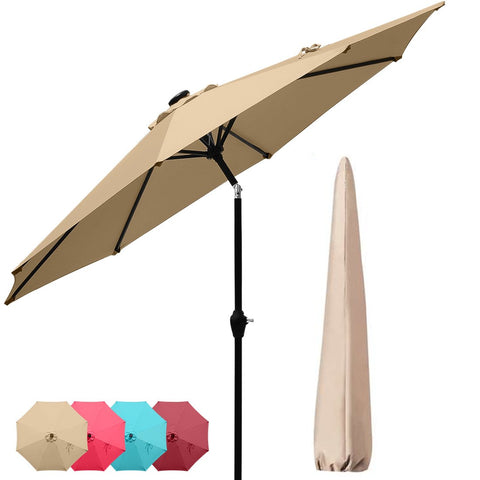 9' Patio Umbrella-Tan