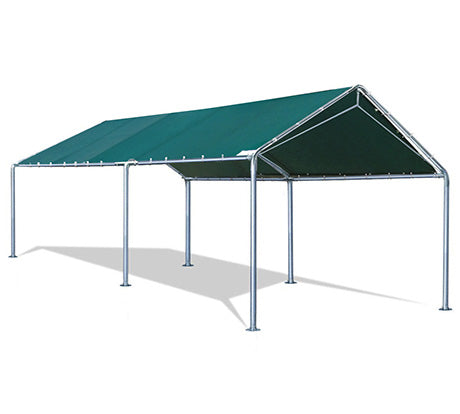 20'X10' Upgraded Heavy Duty Waterproof Anti UV Carport - Green