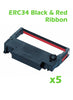 Printer Ribbon - Black & Red - Box of 5