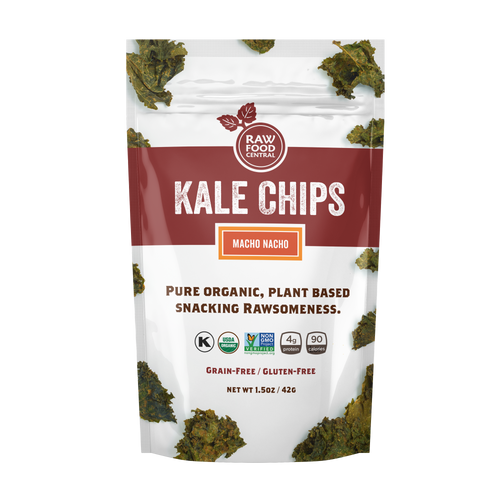 Kale Chips Macho Nacho