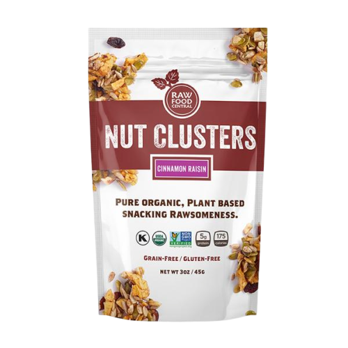 New Nut Clusters Cinnamon Raisin