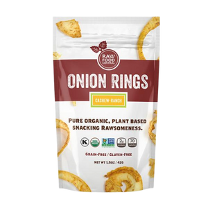 Organic Cashew Ranch Onion Rings