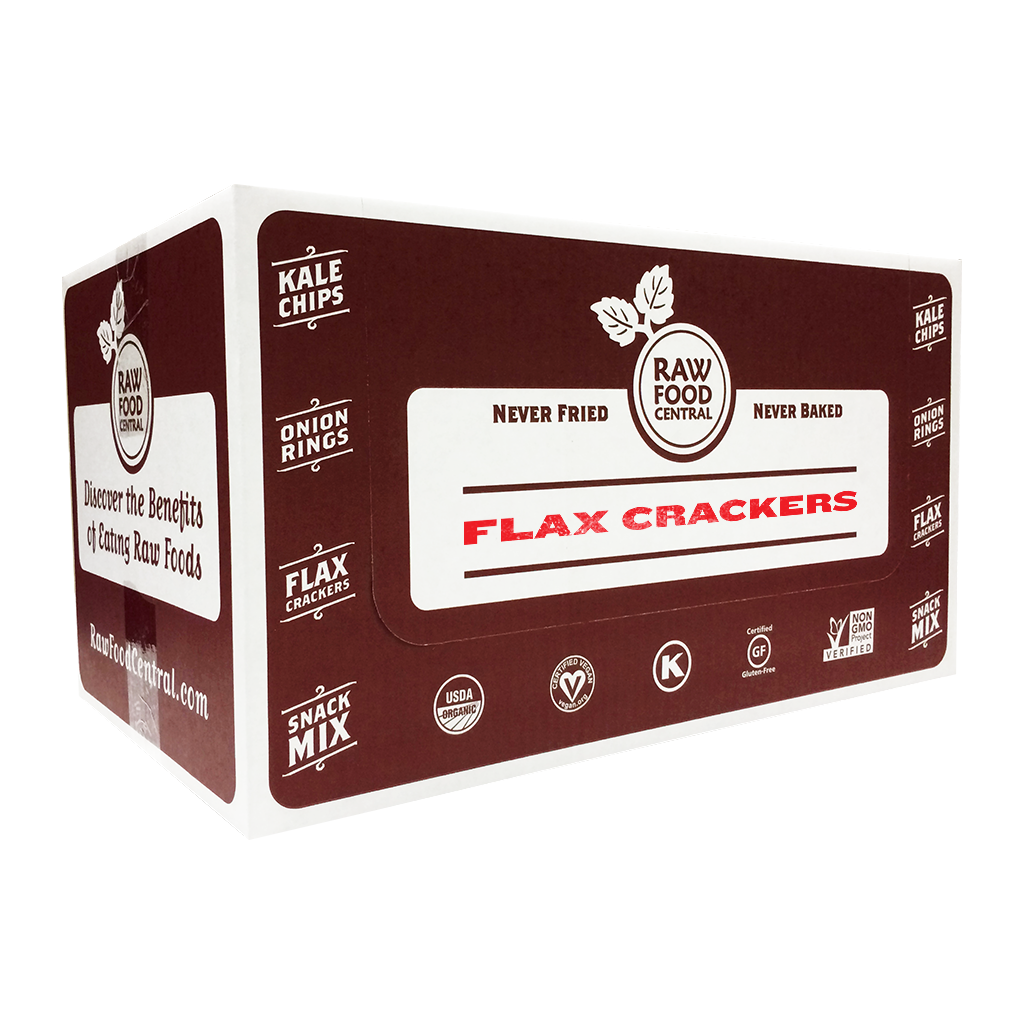 Raw Food Central Flax Crackers