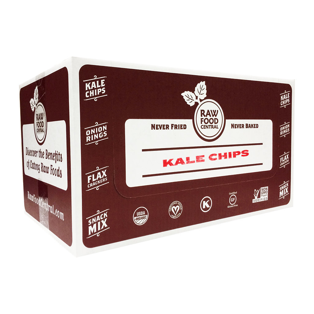 Raw Food Central Kale Chips